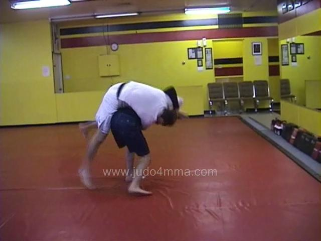 Click for a video showing a Judo for MMA technique called Tsuri komi Goshi for MMA - Lift Pull Loin for MMA